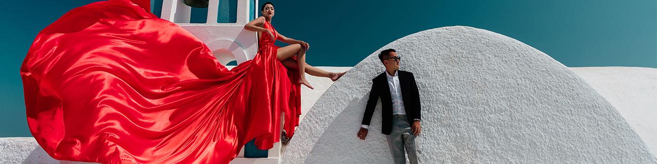 read santorini flying dress