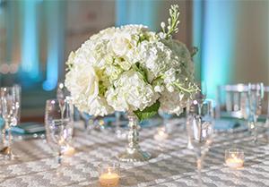 wedding flowers santorini
