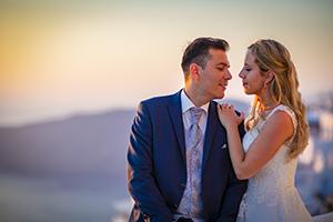 santorini wedding planners