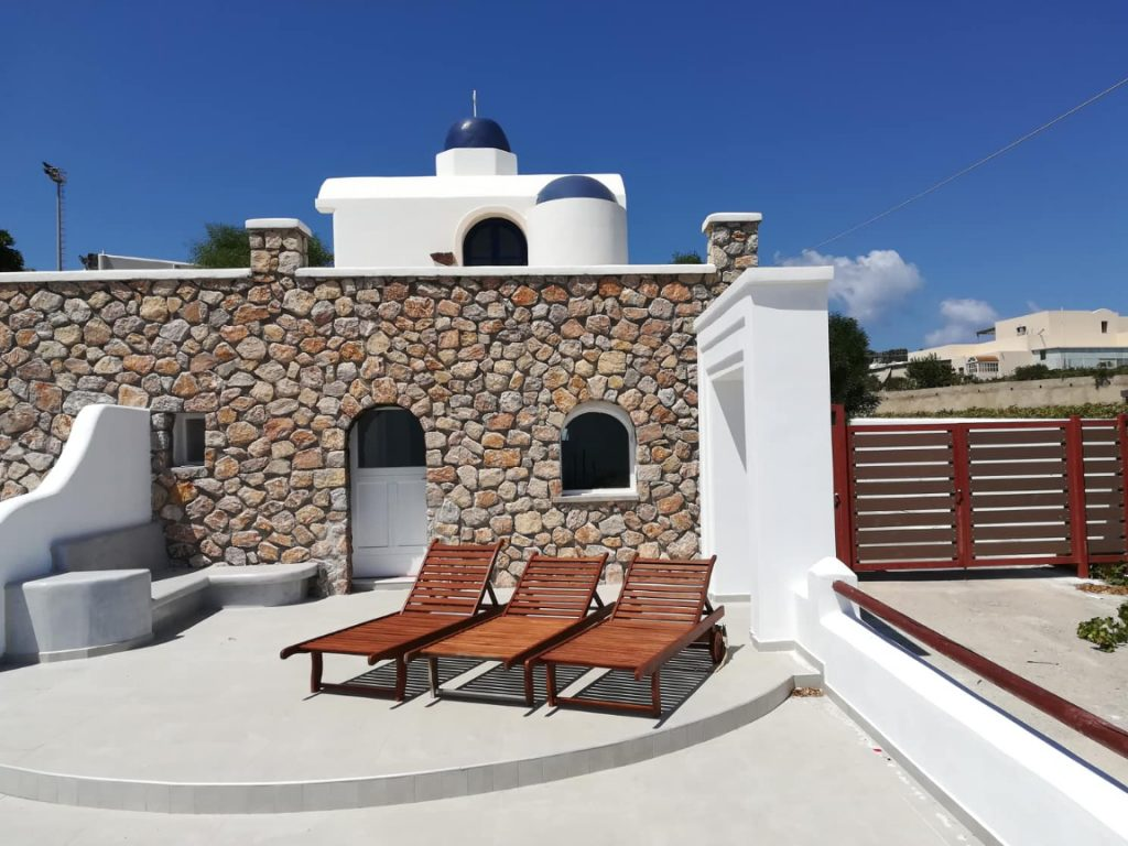 santorini vacation houses