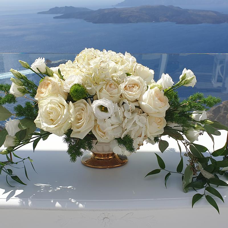 Santorini Wedding decoration