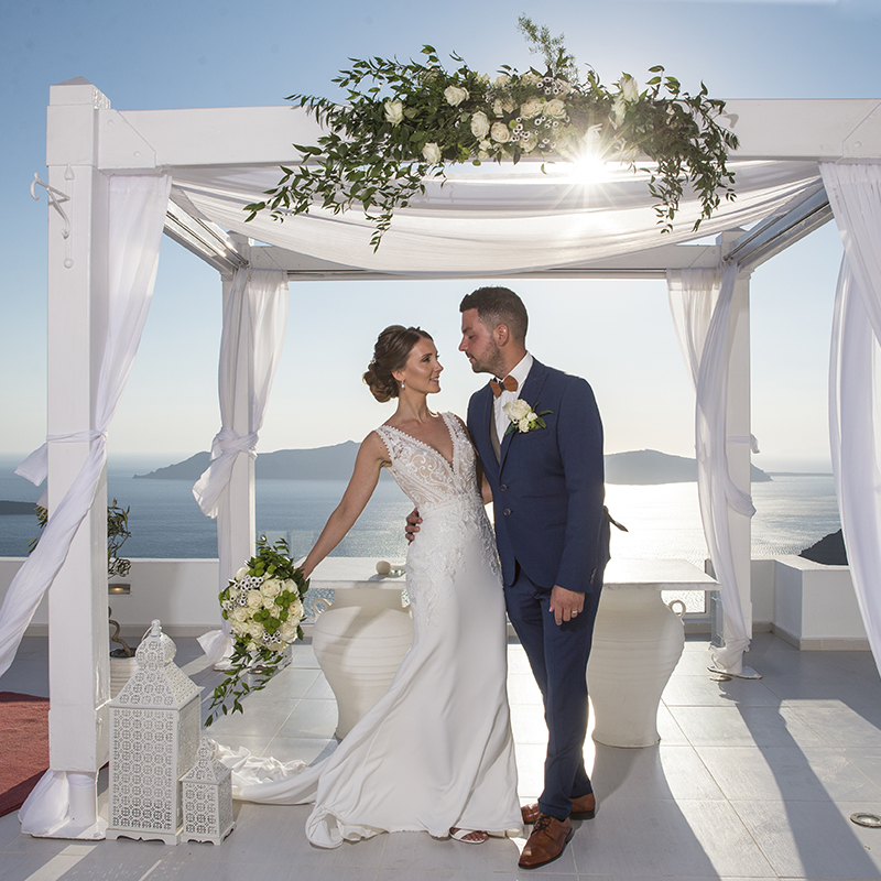 Santorini Wedding Accessories