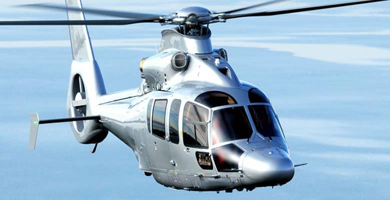 santorini helicopter transportation